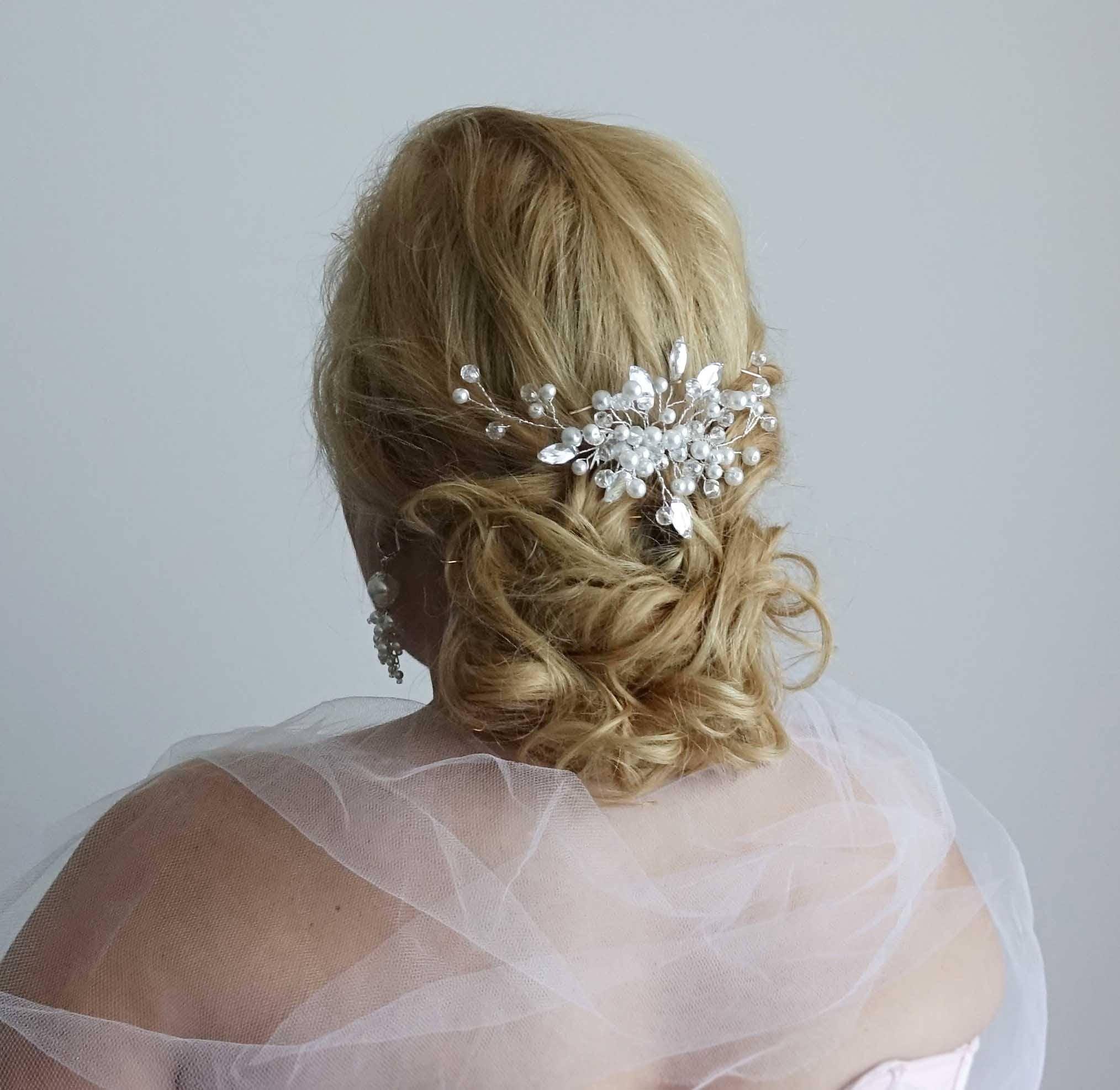 Headpieces For Weddings Ireland: Bridal Headpiece Wedding Headpiece Bridal Hair Piece