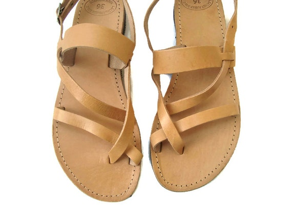 Olympic leather Greek sandals Brown leather sandals sandals sandals sandals Greek Greek Ancient Womens Leather sandals SB6R6cq