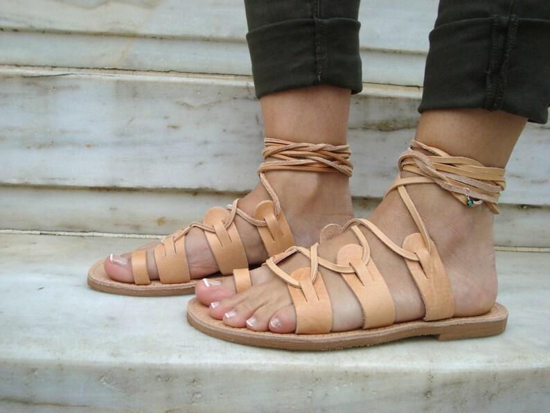 7f05385ff5d Brown Tie Up Sandals Lace Up Sandals Tie Up Sandals