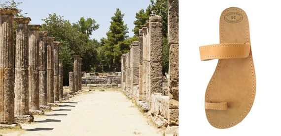 sandales marron sandales Womens sandales cuir Phaedra sandales sandales cuir orteil bague cuir sandales grec grecques en en en aAwYgAt