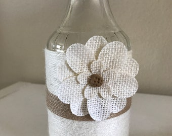 Handmade Decorative Flower Jar
