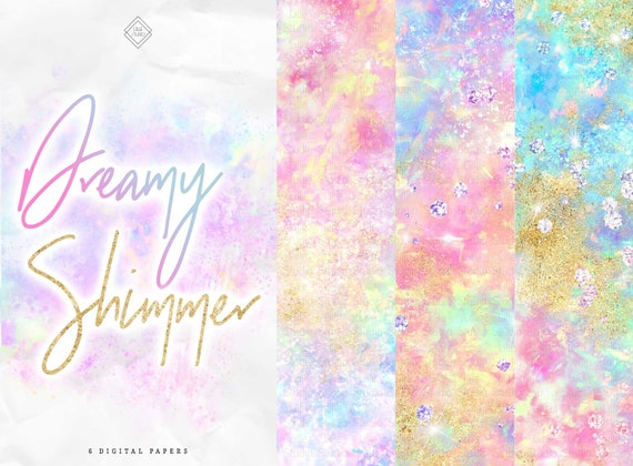 printable \u2013 Color Whirl scapbooking clipping mixed media art Rainbow Painted Digital Paper 10 deep textured backgrounds for blending
