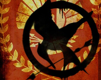Hunger Games lifesize banner, Capitol