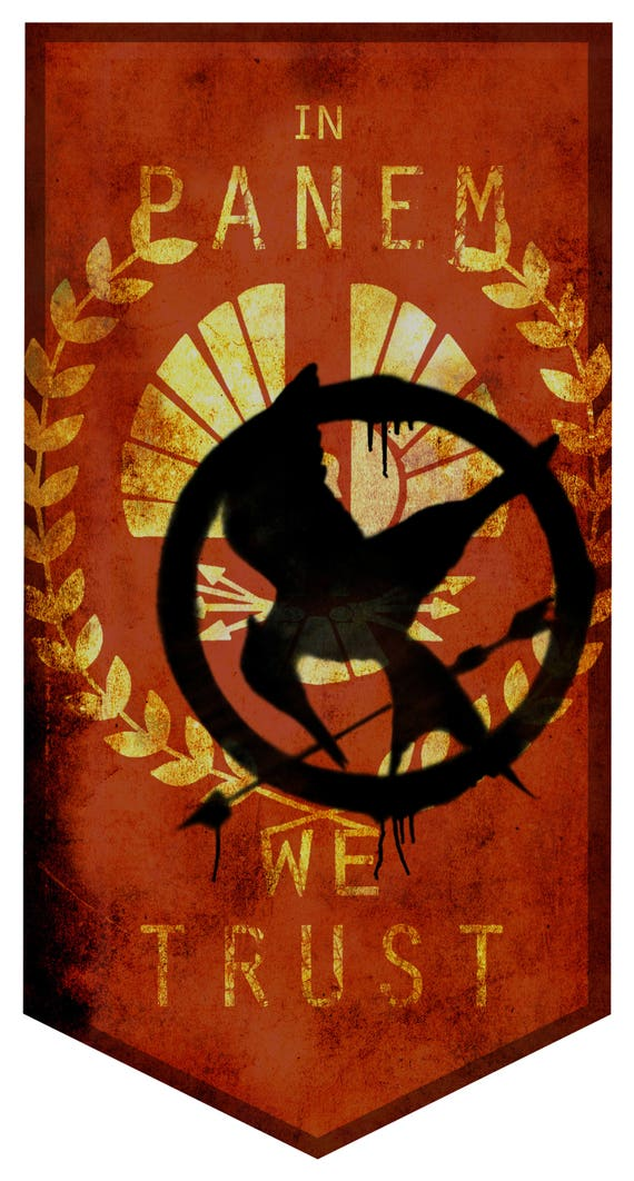 Hunger Games Lifesize Banner Capitol Etsy