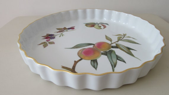 Vintage Royal Worcester Fine Porcelain Flan Case. Mid Century   Etsy