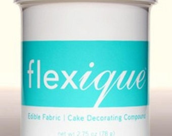 Flexique Edible Fabric 2.75 oz & Glue 3.7 oz