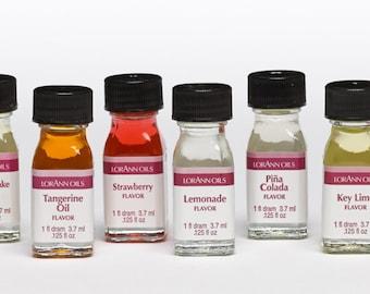 Lorann Oils Super Strength Flavors - 1 Dram Size
