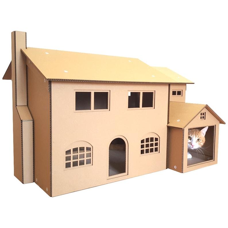 Simpsons Cardboard Cat House image 0