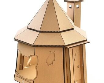 The Good Giant Cardboard Cat House