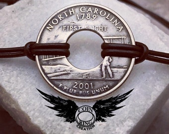 State coin bracelet United States quarter Pick your State 25 cent US (version 1)