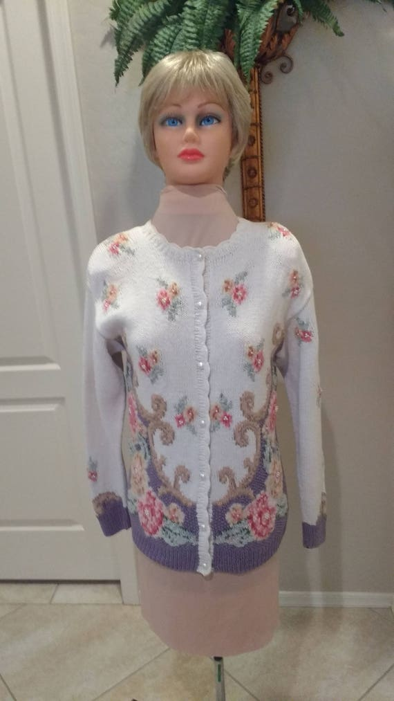 Embroidered Sweater  FreeShipping - image 1
