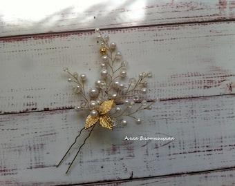 hair accessory, bride jewelery, hair pin, bridal pin, wedding hair, bride hair accessory, crystals hair, wedding headpiece, bridal crystals