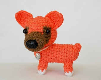Amigurumi dog / stuffed dog / amigurumi  animals / plush dog / crocheted dog / crochet dog /