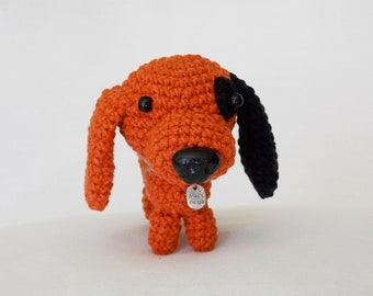 amigurumi dog puppy  / stuffed dog / amigurumi animals / plush dog / crocheted dog / crochet dog / dog lovers gift /