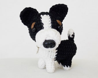 amigurumi dog / stuffed dog / miniature animals / plush dog / crocheted dog / crochet dog /