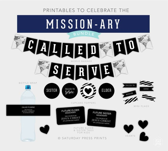 image about Future Missionary Tag Printable called Named Towards Provide Topic, Mission, Missionary, Farewell, Deal Offer, Printables