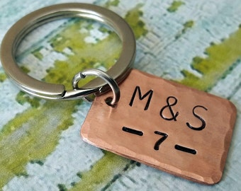 7 Year Anniversary Gift for Couple Him Her Wedding Anniversary Gift Husband Wife Seventh Anniversary Gift Copper 7th Anniversary Gift Men
