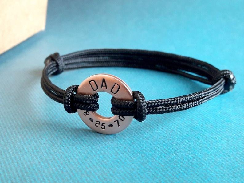 Men Bracelet New Dad Bracelet Men Personalized Bracelet First Fathers Day Gift Father Bracelet Personalized Gift for Dad est Dad Gift Daddy
