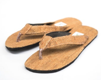 073b0f1f105b7 Floppily funky hemp slumps with rubber sole