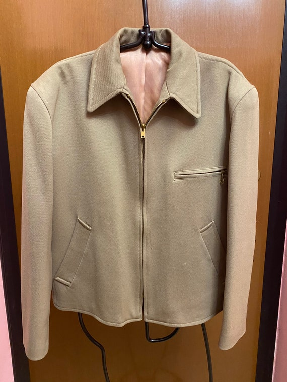 Vintage Authentic 50's Gabardine Jacket