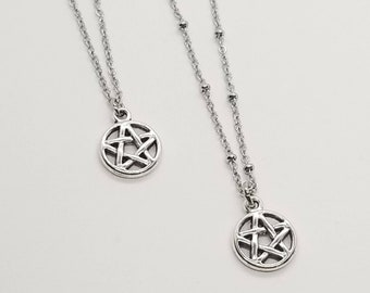 Pentagram Necklace, Witchcraft Jewelry, Witch Jewelry, Wiccan Jewelry, Witchcraft Necklace, Protection Jewelry, Pentacle Necklace