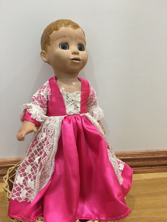 Fits Luvabella Baby Girl Doll Clothes Princess or Fairy Dress Handmade Holiday Costume NO DOLL