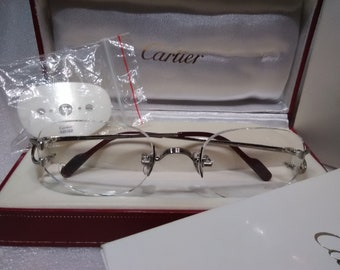 99578684243c Cartier Unisex Prescription Eyeglasses Frame - Paris