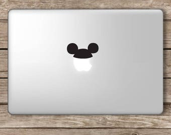 Mouse Hat Vinyl Decal Sticker Apple Laptop MacBook