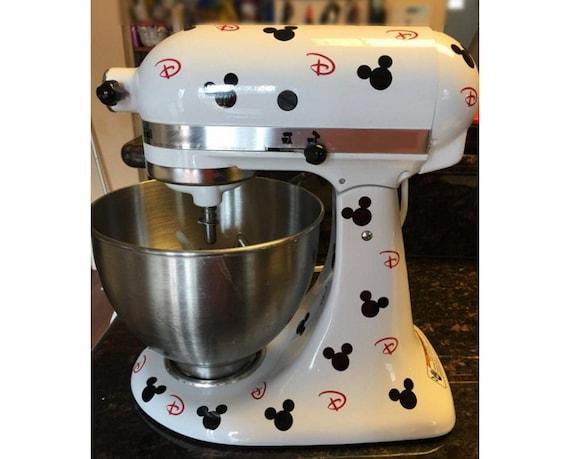 Automatische Mixer Keuken : Muis set keuken mixer vinyl decal sticker keuken home decor etsy