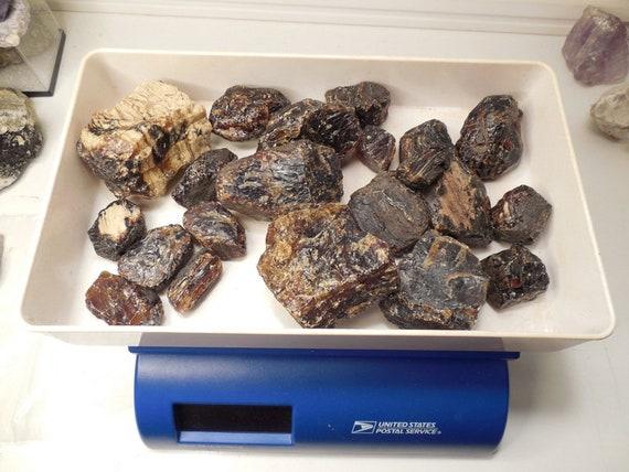 Indonésienne noir ambre ambre noir brut, 1 livre. Grade A 9873f9