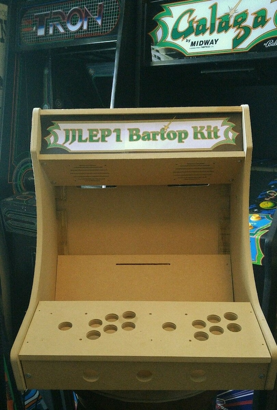 Easy to Assemble 1 or 2 Player Bartop / Tabletop Arcade | Etsy