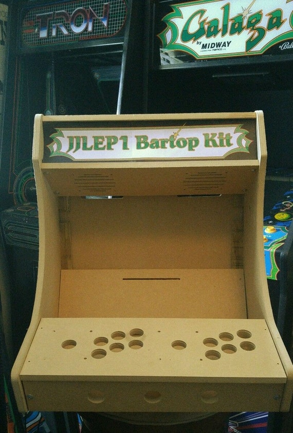 Easy To Assemble 1 Or 2 Player Bartop Tabletop Arcade Etsy