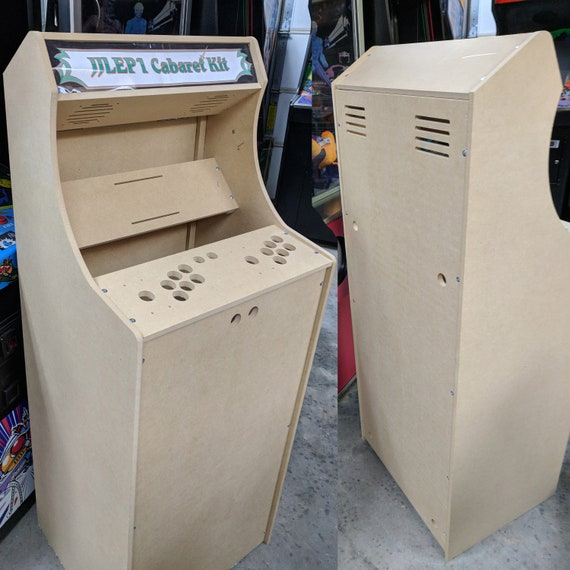 Easy To Assemble 2 Player Cabaret Arcade Cabinet Kit W Etsy