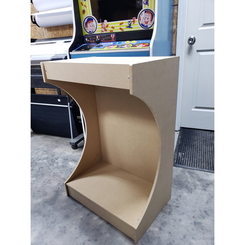 Bartop Arcade Pedestal DiY Kit flat pack mdf Easy to Assemble LVL23AP