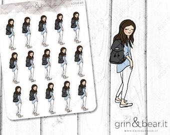 Ready Set Go - Everyday Girl Stickers (EG010)