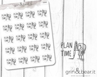 Plan Time Sketchy Planner Stickers (SS002)