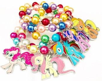 dd25c15d6 My Little Pony Stacker Charm Bracelet - Character Bracelet - Pony Bracelet