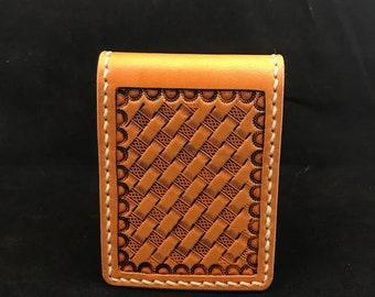 Items similar to iPhone SE, iPhone 5 RETROMODERN aged leather pocket