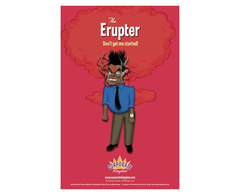 Erupter Poster by Corporate Kingdom® image 0