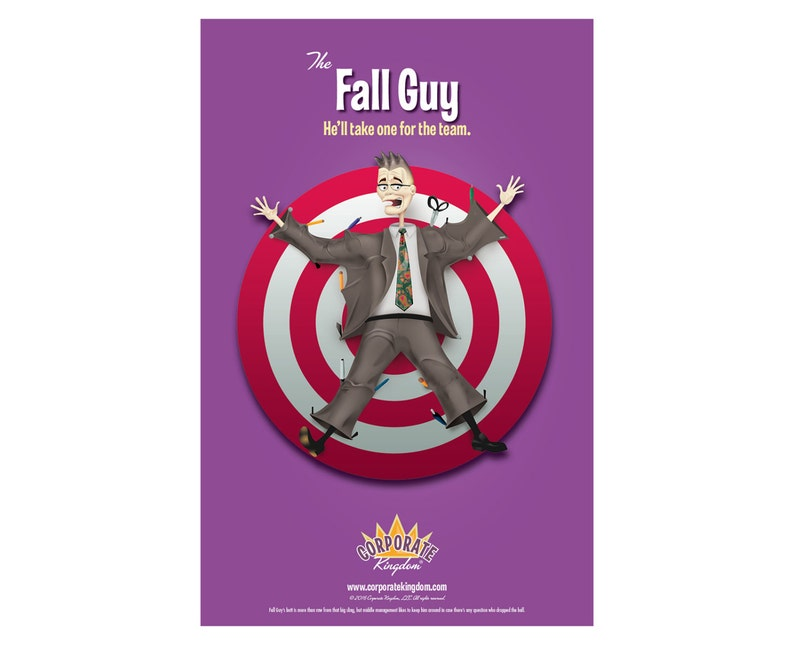 Fall Guy Poster by Corporate Kingdom® image 0
