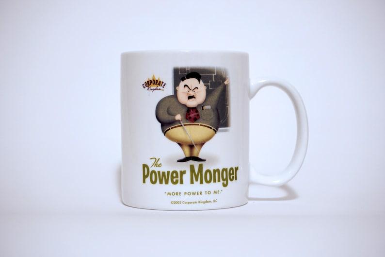 Power Monger Mug by Corporate Kingdom® image 0