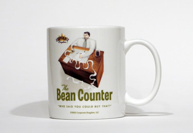 Bean Counter Mug by Corporate Kingdom® image 0