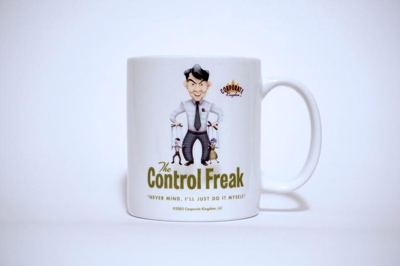 Control Freak Mug by Corporate Kingdom® image 0