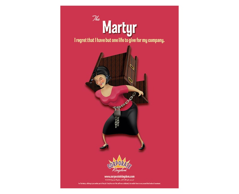 Martyr Poster by Corporate Kingdom® image 0