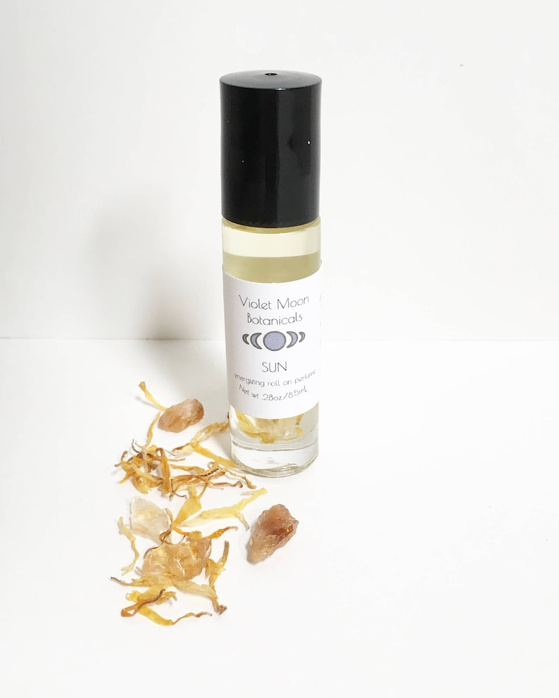 Lemongrass Scent Perfume Oil Roll On   travel and purse size image 0