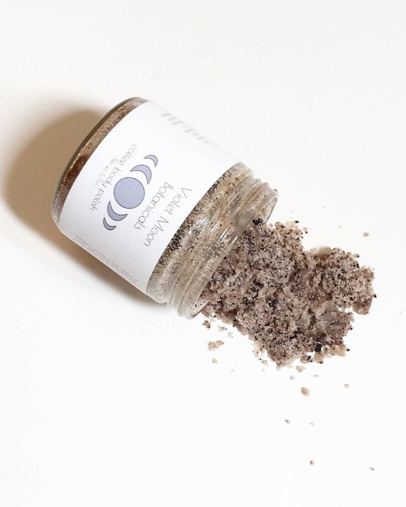 coffee body polish  natural espresso sugar scrub exfoliating image 0