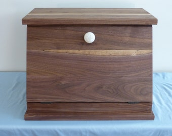 Black Walnut Bread Box