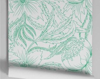 Will green wallpaper