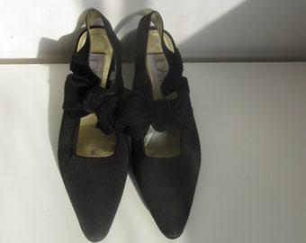 255c627eaab Vintage Joan   David Slingback Heels Shoes