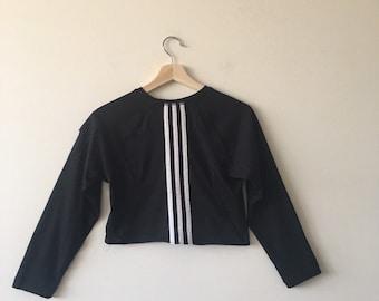 4eac830e836 Reworked Vintage Adidas Crop Top
